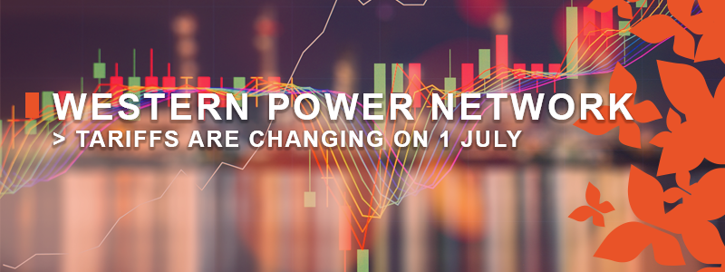Western Power Network Tariffs are Changing on 1 July