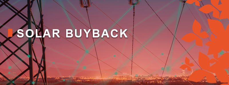 2018-19 Financial Year Solar buyback